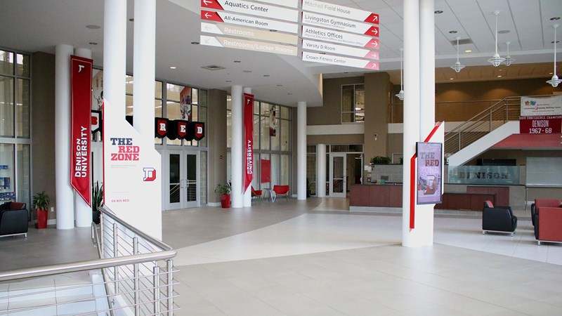 Return To Recreation At The Mitchell Center Fall 2020 Denison University